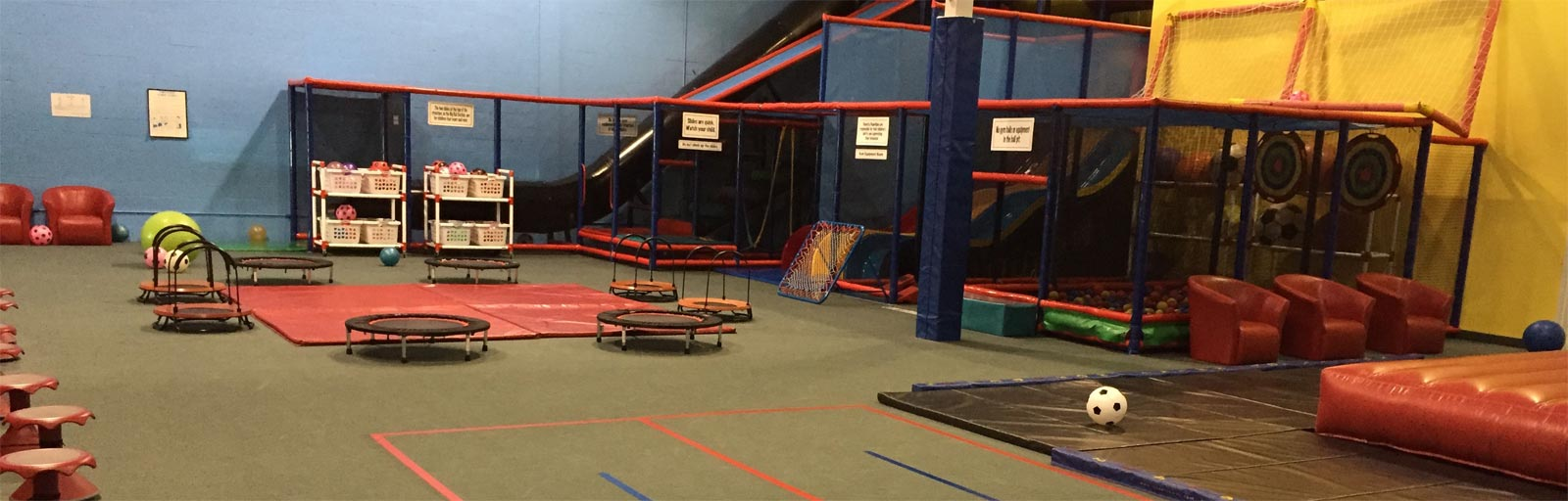 nets and slides kids gym in mississauga