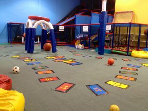 obstacle course for children